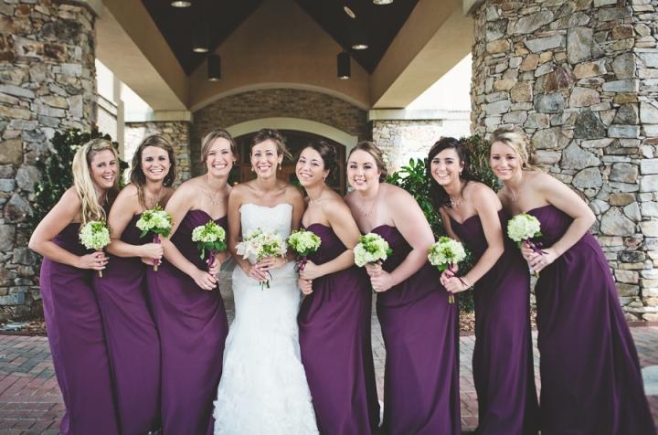 """purple bridesmaids dresses"""