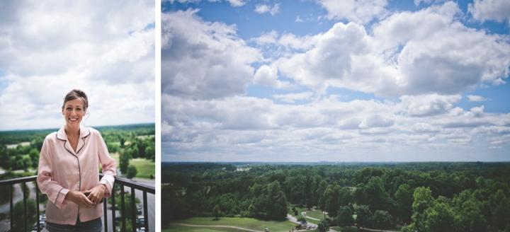 """balcony view at grandover resort"""